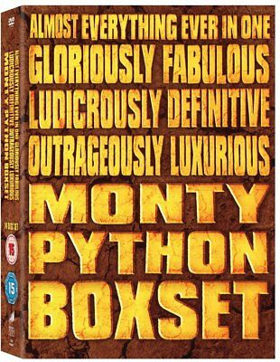 MONTY PYTHONS FLYING CIRCUS series collection box set. New sealed DVD.