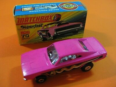 Vintage 60/70´s Matchbox Lesney Superfast Nº70 Dodge Dragster