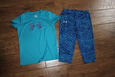girls under armour lot of 2 youth large ylg