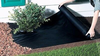 14m x 1m Weed Control Fabric Membrane Ground Sheet Garden Heavy Duty