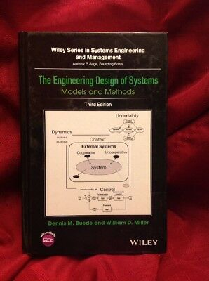 The Engineering Design of Systems: Models and Methods 3rd Ed Wiley Dennis Buede