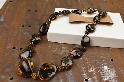 Baltic Amber Necklace Woman jewellery Genuine pure amber Handmade