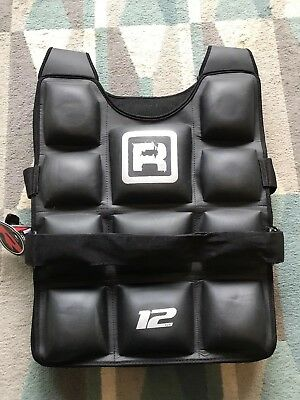 RDX Weighted Jacket 12 KG Weight Training Fitness Vest