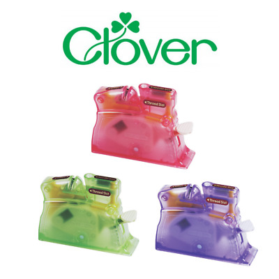 Clover Premium Desk Needle Threader - Assorted Colors Available! [CL407]