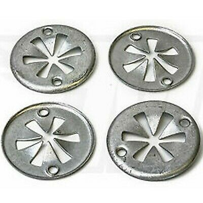 50x Locking Star Washers For Ford Focus Metal Underbody Heat Shield Fasteners