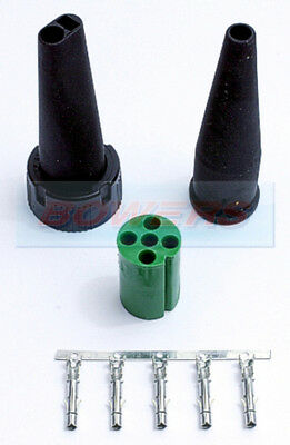 Aspock Green 5 Pin Rear Light Connector Plug Ifor Williams Brian James Trailers