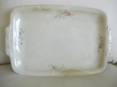 Knowles Taylor & Knowles ANTIQUE 1880-90 Large SERVING PLATTER, Rectangular, EUC