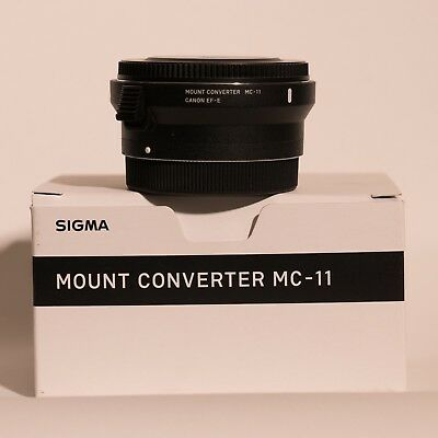 Sigma MC-11 MC11 Mount Converter from Canon to Sony E / FE - Mint condition