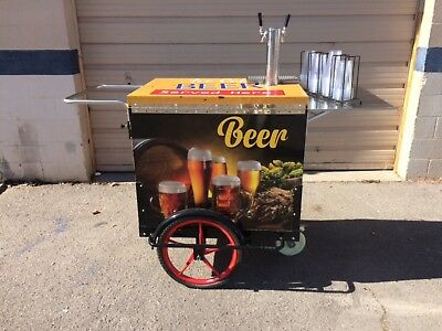 Beer Cart, Cold Brew Cart, Vending Cart