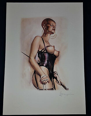Sorayama art Pin-Up Fantasy Erotik Fine art Litho Collection Sexy Erotic Signiet