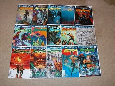 AQUAMAN #1-30 + ANNUAL DC Rebirth Lot