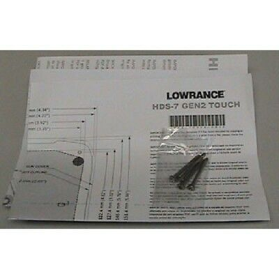 Lowrance HDS 7/9/12 Gen2 Touch Flush Mount kit 000-11050-001