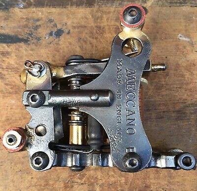 One Off Handmade,Single Coil Tattoo Machine, Liner