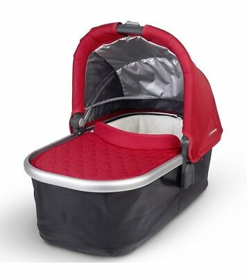 Uppababy Bassinet Denny Red fits Vista & Cruz Strollers - Fits 2015+ Brand New