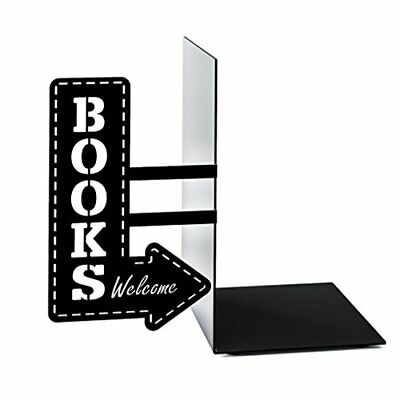 Balvi Bookshop metal bookend For Home Office Library School Study Decoration