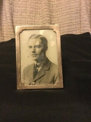 Antique Or Vintage Silver Photo Frame - Birmingham, 1917 (Or May Be 1942)