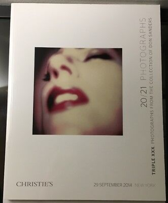 Christie's Auction Catalog ~ Don Sanders Nude Photography Collection ~ 2014