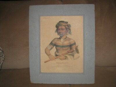 Very Old Original Antique Lithograph Early 1800's-Beautiful