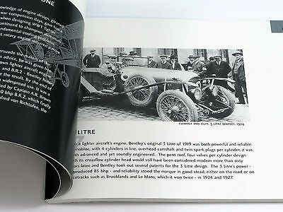 Bentley Motors - The Making of a Legend - 80-Page Book Brochure  2002