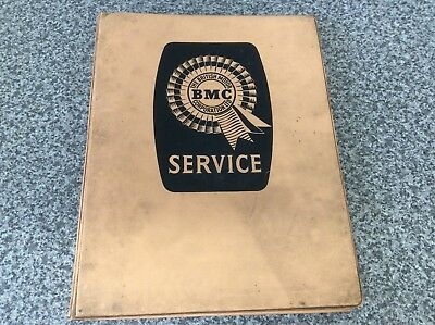BMC Nuffield Tractor Original Technical Information Folder, Very Rare, Leyland.