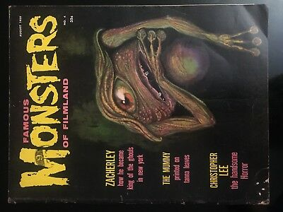 Famous Monsters Of Filmland  No 4