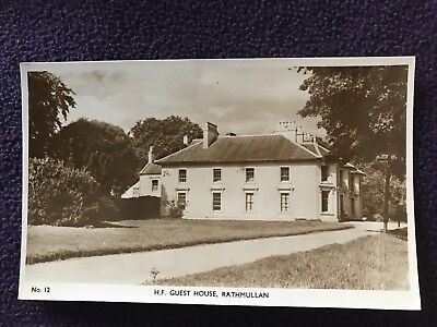 Old POSTCARD - H.F. GUEST HOUSE, RATHMULLAN, COUNTY DONEGAL, IRELAND Eire