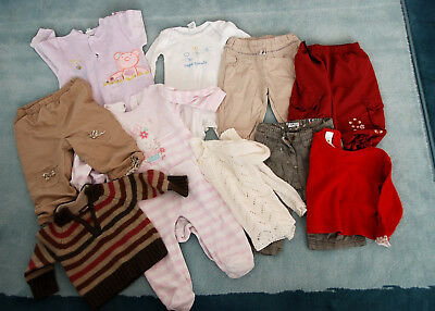 lot de vêtements combinaison pyjamas 68-74 6-12 mois