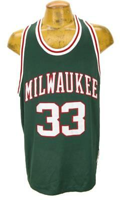 half off 41b09 32f50 reduced kareem abdul jabbar milwaukee bucks jersey e5513 aaa56