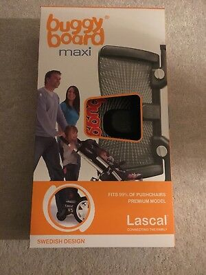 Lascal Buggyboard maxi large toddler ride-on board