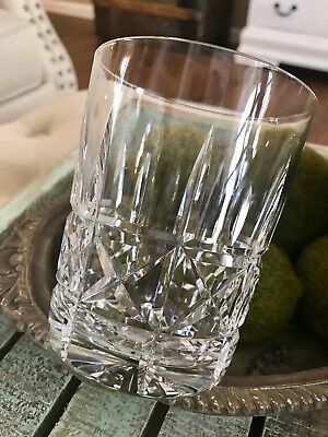 Waterford Crystal Double Old Fashioned Kylemore Cut 12 oz Watermark