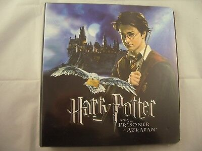 Harry Potter & The Prisoner of Azkaban Trading Card Binder and Base set