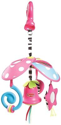 Tiny Love Pack and Go Mini Mobile, Tiny Princess Lead Free stroller or crib