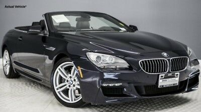 2012 BMW 6-Series  2012 BMW 640 Convertible M Sport Package