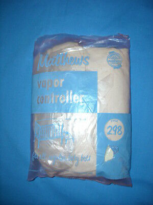 Vintage 60's Matthews Vapor Controller Cover for Baby Cribs Original Package