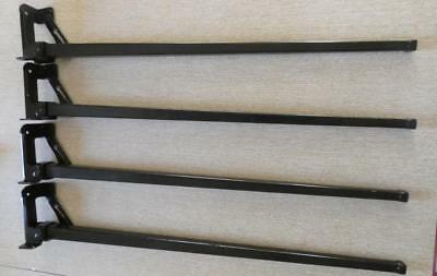 Set Of 4 Metal Legs For Featherweight Sewing Machine Table