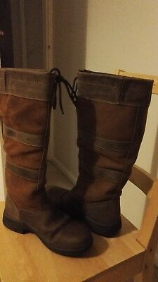 Dublin River Boots Size 7 Brown