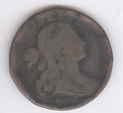 1806 Draped Bust Large Cent + Nice Circ + No Reserve!