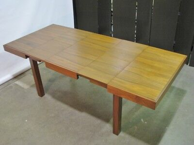 1950's George Nelson For Herman Miller Mid Century Walnut Dining Table; Nr.Mint