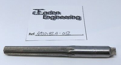 No. 6 Taper Pin Hand Reamer, Straight Flute by National, Detroit. HSS.
