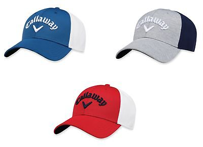 Callaway Mesh Fitted Hat Mens Golf Cap - New 2018 - Pick Size   Color! a5122793c75c