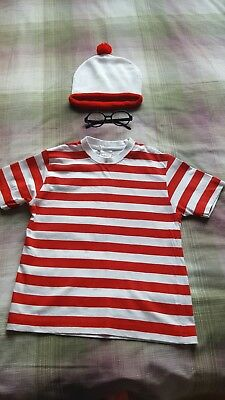 wheres wally fancy dress age 11-12 years
