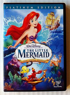 The Little Mermaid (DVD, 2006, 2-Disc Set Special Platinum Edition) Disney Movie