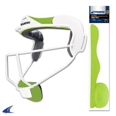 CHAMPRO Softball Fielders Safety Mask Liner Pads Replacement Pads