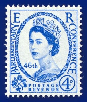 1957 SG560 4d 46th Inter-Parliamentary Union Conference MNH Unmounted Mint aevp