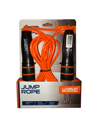 Liveup sports jump rope with digital counter for Exercise Gym Fitness