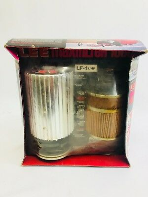 Vintage Lee maxfilter 1000 Oil filter 1200 psi rated