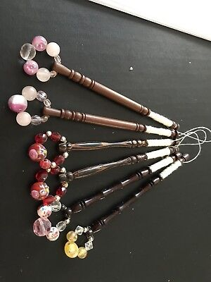 Lace Making Bobbins With Spangles