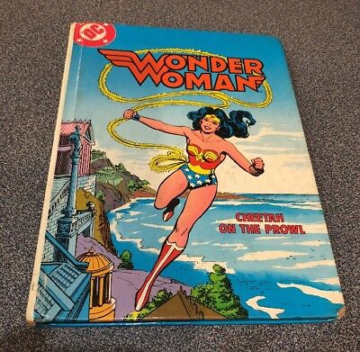 Wonder Woman - Cheetah On The Prowl - Book - No Tape