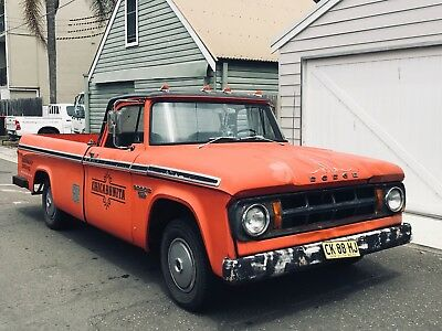 Dodge D100 1968 Classic Ute Pickup Truck Chevy Ford Gmc V8 318 Rat Rod
