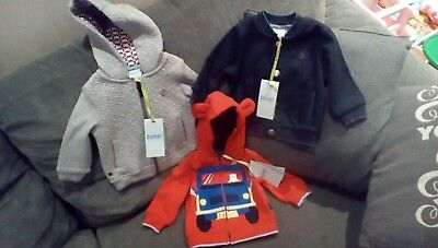 ted baker boys coats 0-6 months all brand new!!